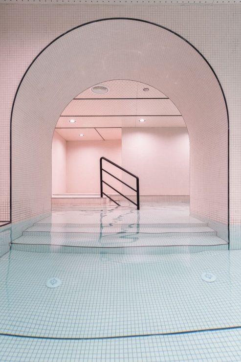 La piscina Loong Swim Club